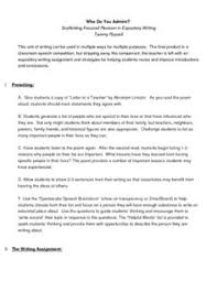 expository essay format printable great reference for students expository writing unit who do you admire the final product is a classroom speech