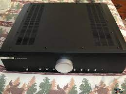 My reference integrated amplifier was the nad c 325bee (50wpc into 8 ohms). Musical Fidelity M6i Polk Audio Forum