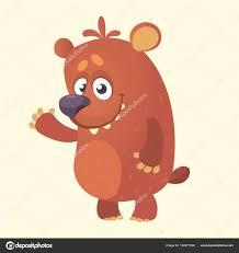 Personnage De Dessin Anim Mignon De Bear Illustration