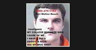 Gaetz — who represents a conservative swath of the florida panhandle — has paid more than $184,000 to merrill's empire partners llc to rent the entire. Matt Gaetz Mug Shot Memes