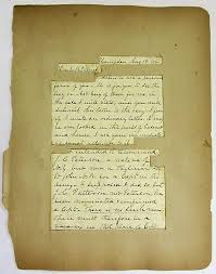 Autograph Letter Signed On Plain Lined Paper To E B French Dated At Hampden Maine August 19 1861 Asking For Help In Securing A Captains