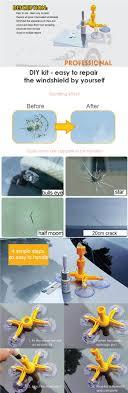 car glass windshield windscreen scratch repair re kit diy