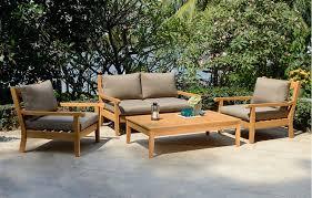 teak garden lounge set garden