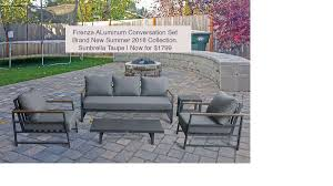patio furniture clearance event