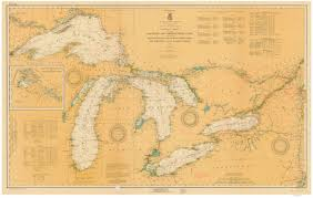 Great Lakes Navigation Charts New York Historical Nautical Charts