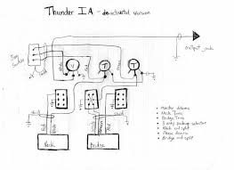 thunder 1a wiring without active circuit  at Westone Thunder 1a Wiring Diagram