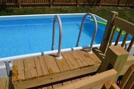 intex above ground pool rectangle. Pics Finished Intex Ultraframe Rectangular 18x9 With Deck Above Ground Pool Rectangle V