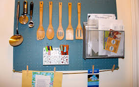 Kitchen Pegboard Nifty Ideas For A Cluttered Kitchen