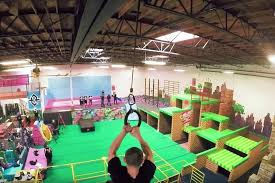 video game inspired parkour gyms