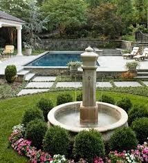 fountain garden. Classic Fountain Garden