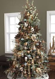 Rustic Theme Christmas Tree Christmas Tree Themes Color Schemes