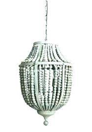 white beaded chandelier white beaded chandelier wood bead wooden gray aged white beaded chandelier uk