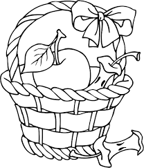 Small Picture Empty Basket Coloring Page FallBasketPrintable Coloring Pages