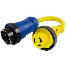 rv marine cords extension cords extension cords surge 10 3 marine shore power adapter 50 amp 125 250