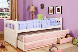 Twin Trundle Bed For Girls — Loft Bed Design Innovative Trundle