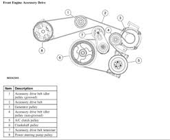 2009 ford fusion 6 cyl belt diagram fixya see diagram below