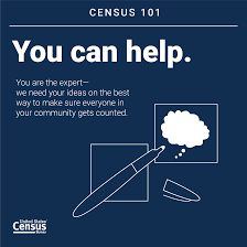 census 101 you can help