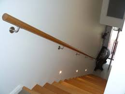 46 Stair Railing On Wall Wood Stair Railing On Wall A More Decor pertaining  to proportions