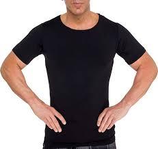 LISH <b>Men's</b> Slimming Light <b>Compression</b> Crew Neck <b>Shirt</b> - Short ...
