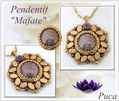 pendant necklace diy mafate glass beads paros and kos by puca