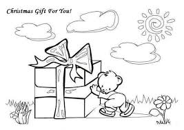 Small Picture Coloring Pages Lots Of Presents Christmas Coloring Page Christmas