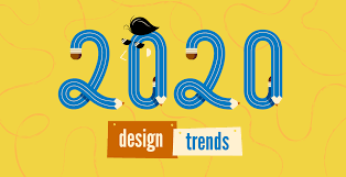 2020 Design Version 11 Top 20 Graphic Design Trends For 2020