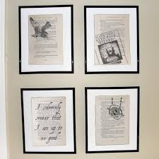 Small Picture Harry Potter Prisoner of Azkaban Upcycled book page art prints
