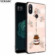Yimaoc Chocolate Food Tumblr Nutella Soft Silicone Phone Case For Xiaomi Mi 9 8 A2 Lite A1 6 Pocophone F1 Max 3 Mi9 Mi8 Mia2