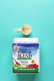 sunwarrior vegan vanilla protein powder review