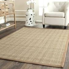 round sisal rug natural fiber brown