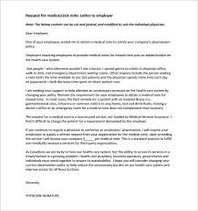 Doctors Note Requirement Doctor Note Templates For Work 6 Free Sample Example Format