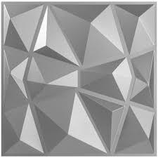 3d pvc wall panels textured diamond