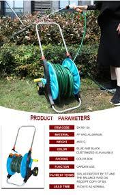 metal hose reel irrigation cart