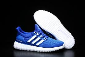 adidas shoes blue and white. adidas mens ultra boost x yeezy blue white shoes and
