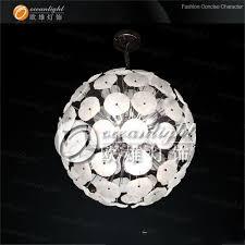 led crystal pendant light round ball pendant lamp rgb adjule om690