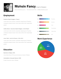 1 Page Resume Template Example Document And Resume