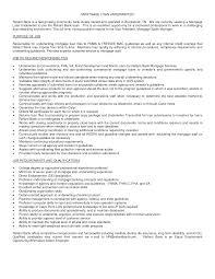 Loan Processor Resume Objective Bongdaao Com Best Of Sample Mark Sevte