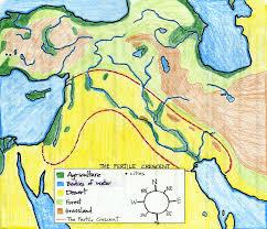W1 Example Fertile Crescent Map | CC Geography C1 | Pinterest ...