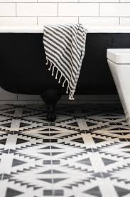 black and white floor tile tiles awesome bathroom throughout idea 14