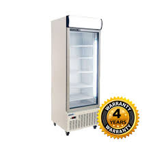 huxford single glass door upright fridge hc600