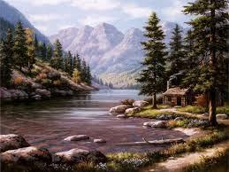 sung kim log cabin retreat