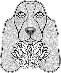 Small Picture lady dog lady dog coloring page free printable dog coloring pages