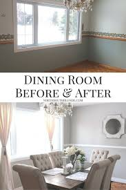dining room before and after ashley furniture tripton dining set bright dining room home decor and renovation idea to see how i did it