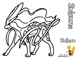 Legendary Pokemon Color Pages Coloring Pages