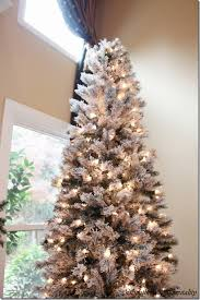 Merry Christmas! A White and Silver Christmas Tree