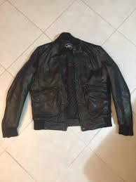 moto guzzi men s california leather motorcycle jacket like new 329 perth