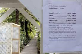 Sewage From Burlington Home Causes Major E Coli Contamination In