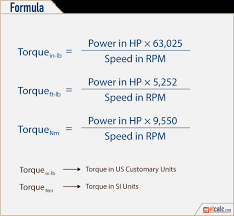 Torque Conversion Chart Nm To Ft Lbs Torque Horsepower Conversion Calculator