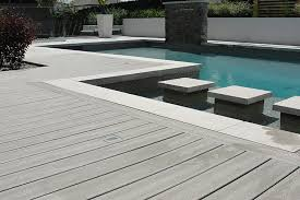non wood decking. Exellent Decking CompositeWoodDeckingPool  On Non Wood Decking