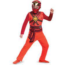 LEGO Ninjago Kai Classic Child Halloween Costume by Disguise - Walmart.com  - Walmart.com